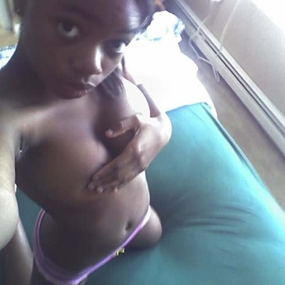 black girl self shot sex