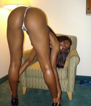Black Amateur Cutie With An Incredible Ass