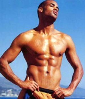 Boris Kodjoe Beautiful Black Male Celeb Only In his Undies