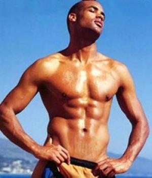 Boris Kodjoe Beautiful Black Male Celeb Only In his Undies