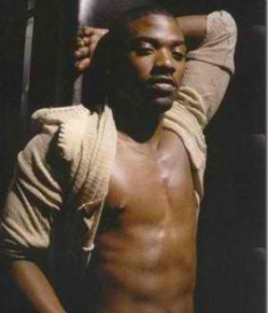 Ray J Hot Black Celebrity Hunk Topless
