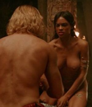 Rosario Dawson Hot Sex Scene in Alexander